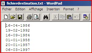 image du fichier texte destination